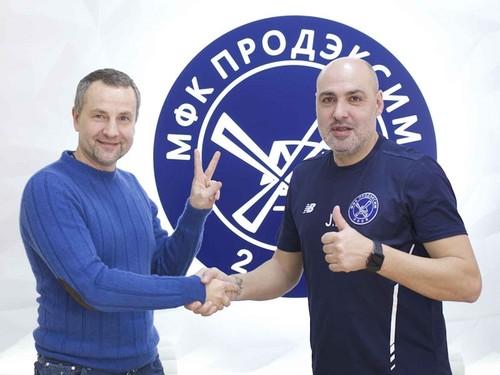 Хави Родригес – главный тренер МФК Продэксим