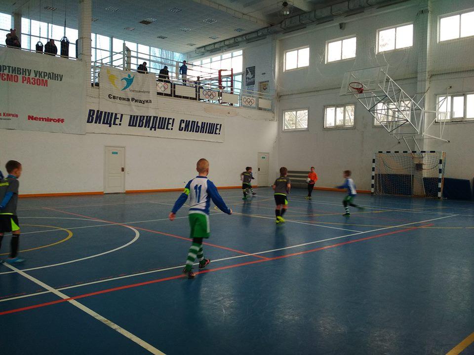 Чемпіонат з футзалу м.Гола Пристань серед команд юнаків 2009/2010 р.н.
