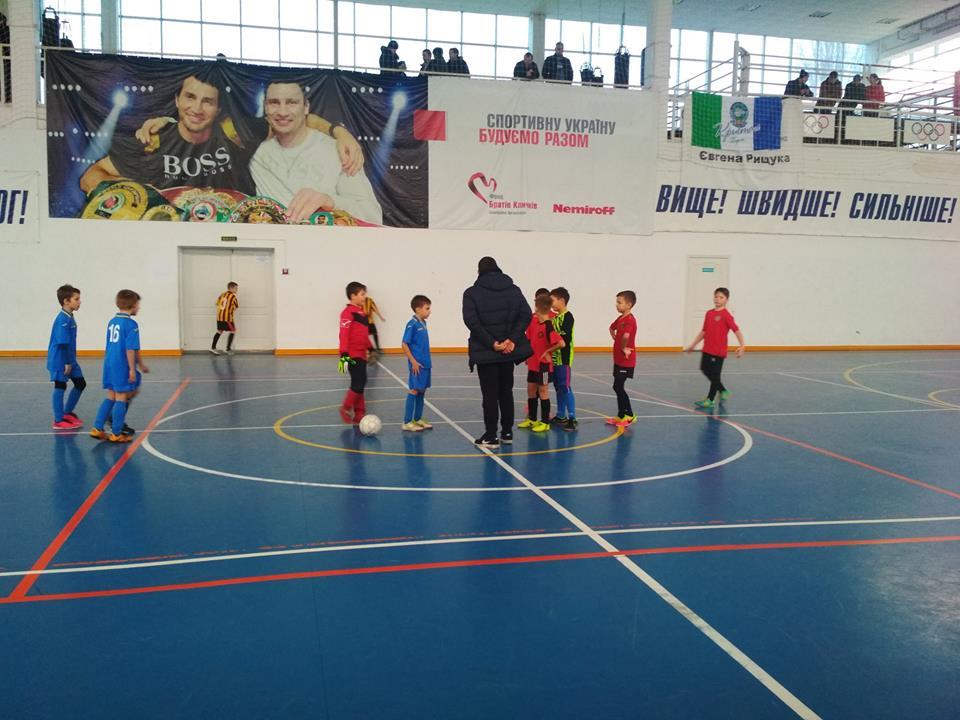 9 тур відкритого чемпіонату з футзалу АФХО серед команд юнаків 2009/2010 р.н. U-10. в м. Гопри