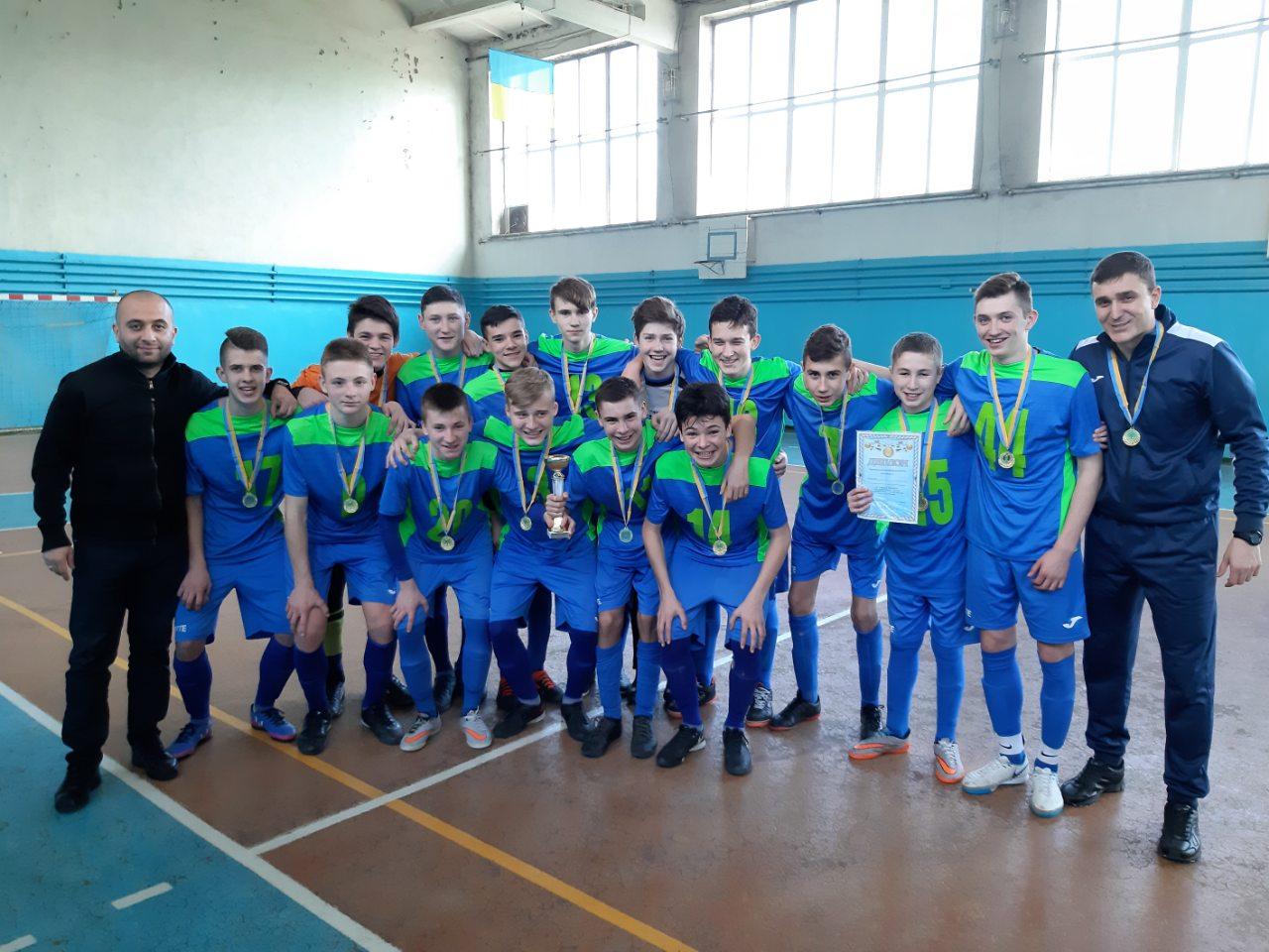Результати фінального етапу Чемпіонату Херсонської області з футзалу серед команд юнаків U-16