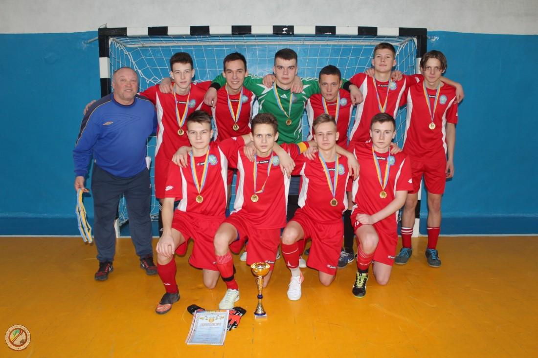 СДЮСШОР «Кристал» – Чемпіон області з футзалу сезону 2018-2019 рр. у віковій категорії u-18