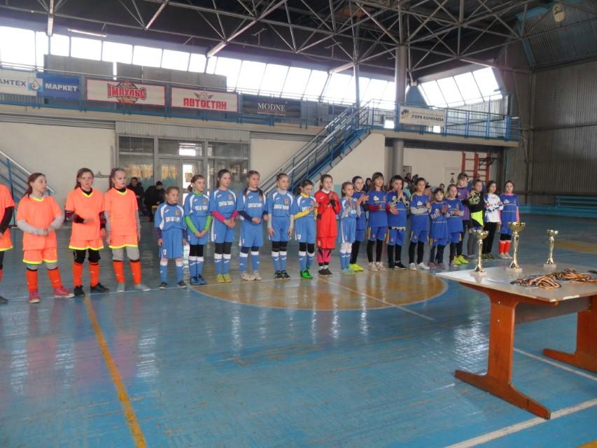 ІІ тур Чемпіонату Херсонської області з футзалу серед команд дівчат 2008-2009 рр.н. WU-11