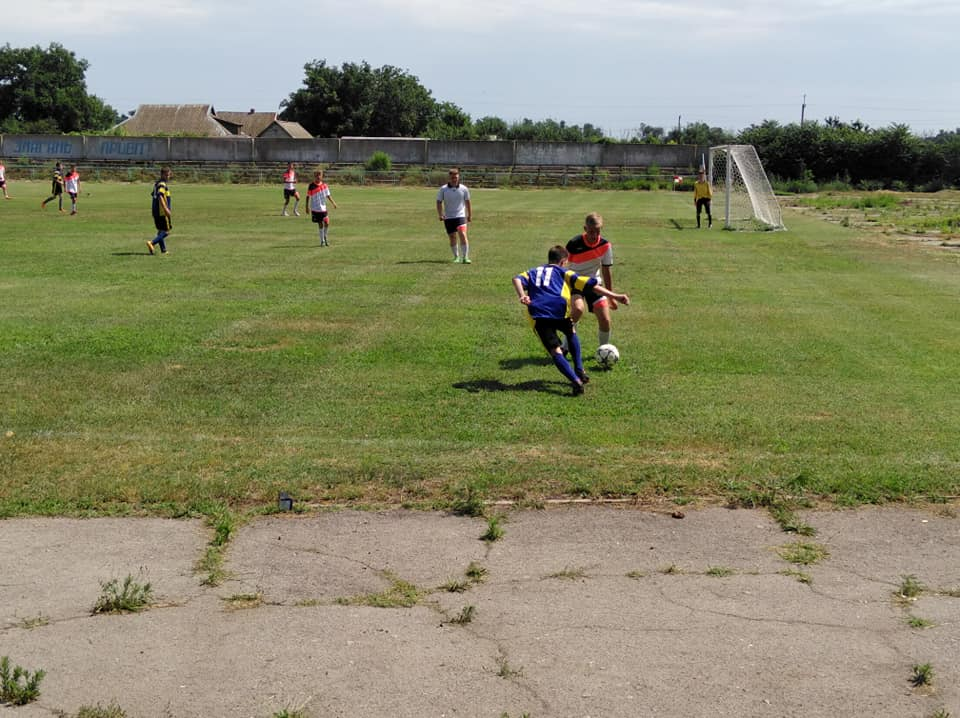Чемпіонату Голопристанского району з футболу. 7 тур