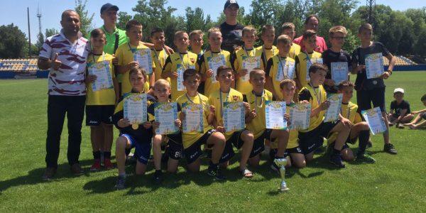 Завершився чемпіонат Херсонської області з футболу вікової кагерії U-12  сезону 2018/2019