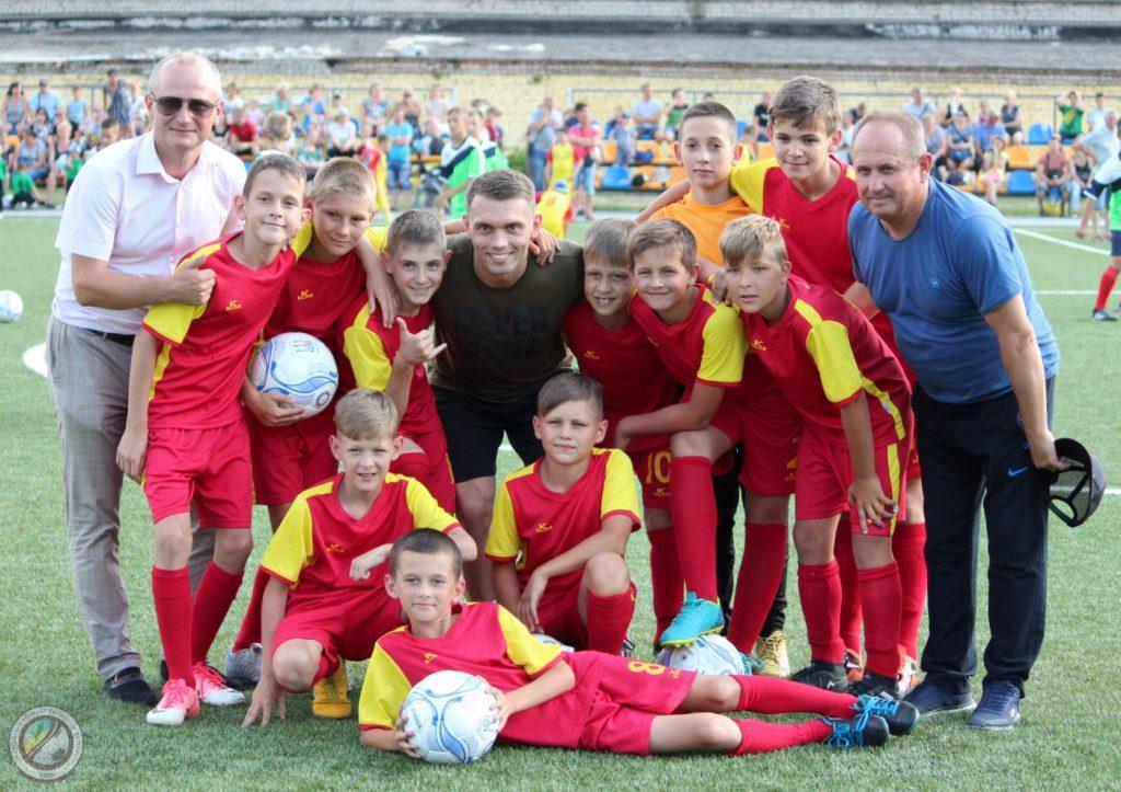 Футбольная легенда провела мастер-класс для двадцать одной команды Херсонщины