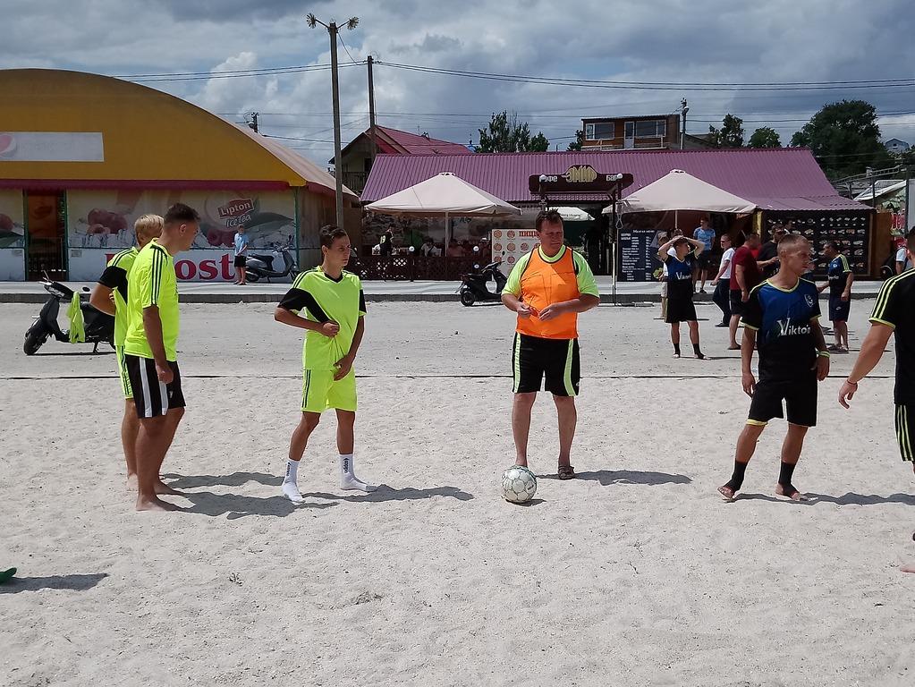 Турнір з міні-футболу на піску в Генічеську