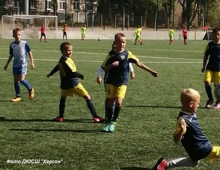 Чемпіонат Херсонської області  серед  юнаків  U-10. Результати 1-4 турів