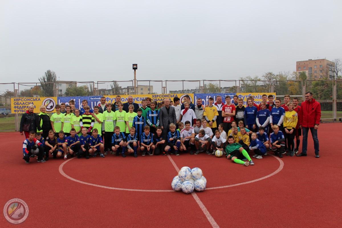 У Херсоні відбувся Кубок з міні-футболу серед спортсменів з інвалідністю