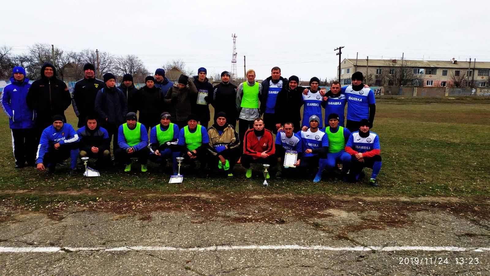 Турнір з футболу до Дня працівників сільського господарства в Нижніх Сірогозах