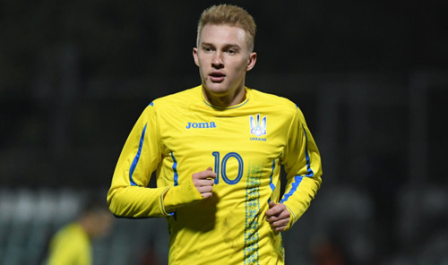 Поединок с Эстонией стал юбилейным для Виктора Коваленко