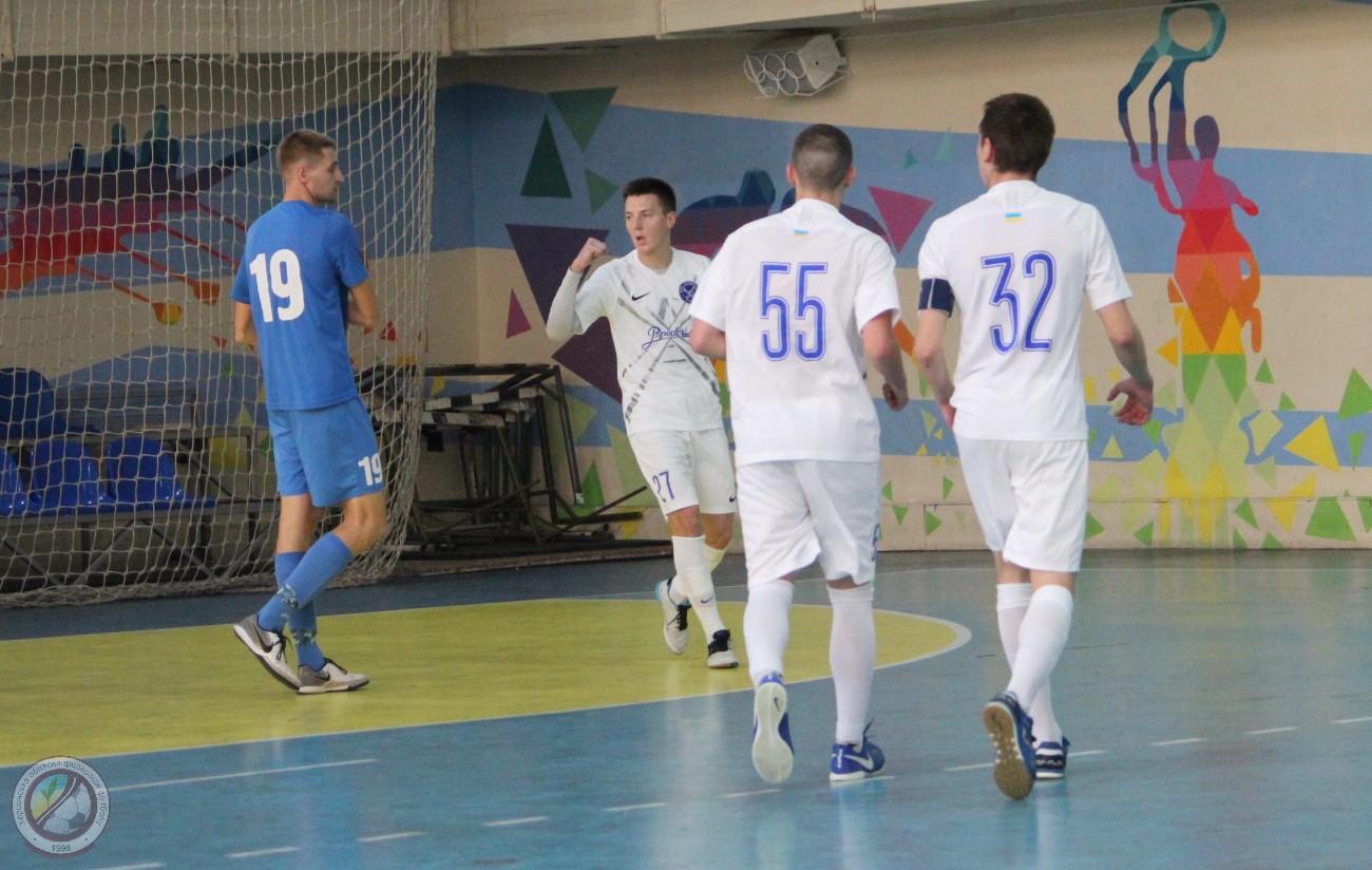 Футзал. Кубок України, другий попередній етап: Продексім-2 у першому матчі з розгромним рахунком переграє Прайд.