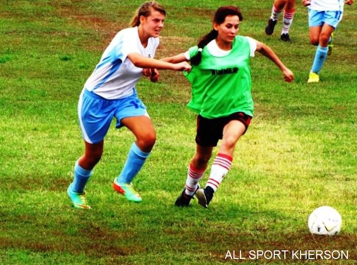 На Херсонщині створено дві жіночі футбольні команди