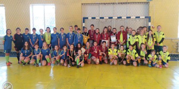 Чемпіонат Херсонської області з футзалу серед команд дівчат WU – 14. Підсумки
