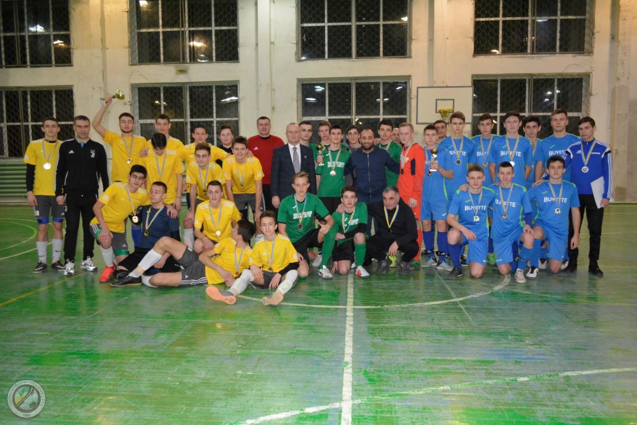 Чемпіонат Херсонської області з футзалу U-18. Підсумки