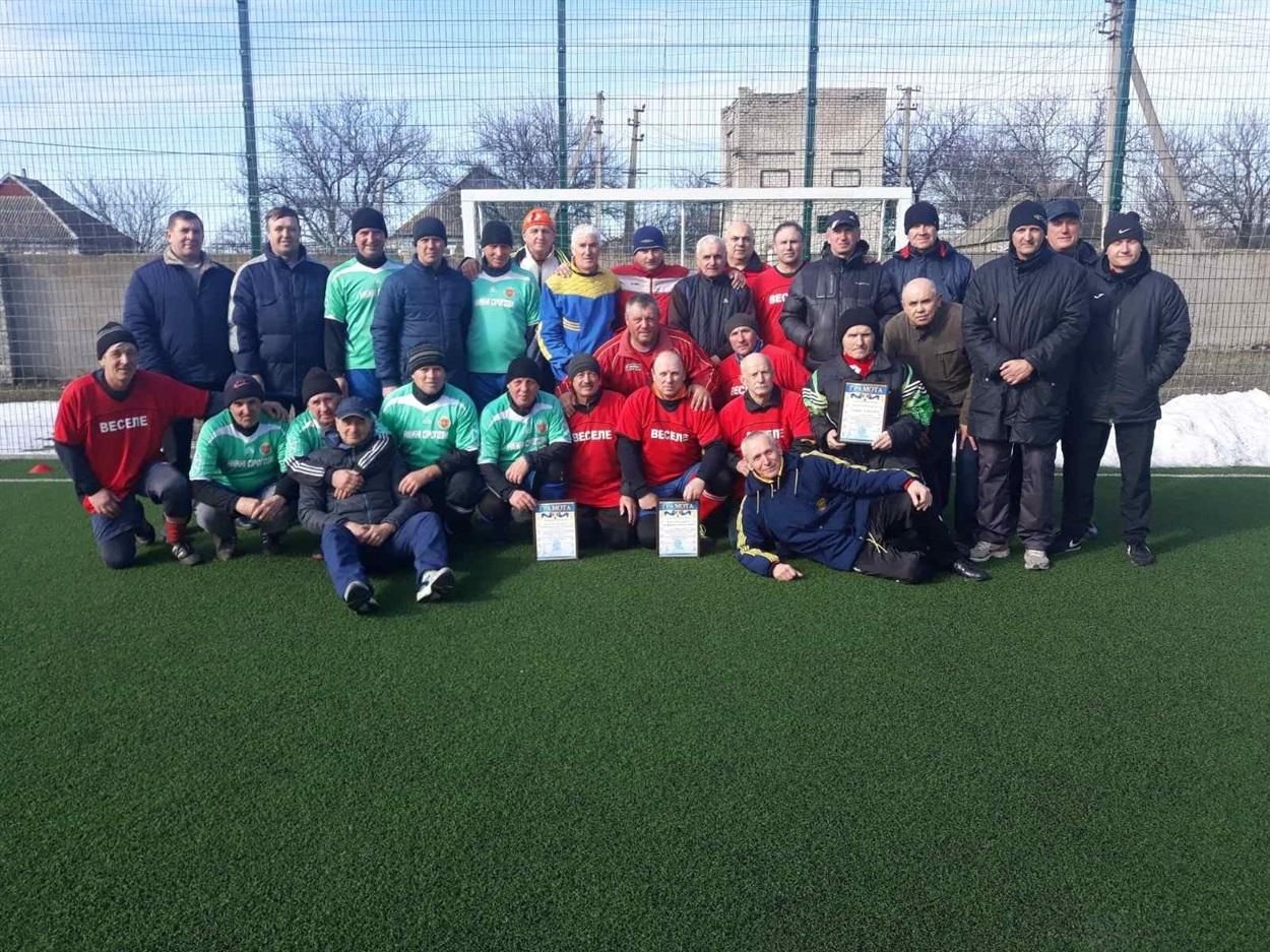 Турнір ветеранів футболу в Нижніх Сірогозах