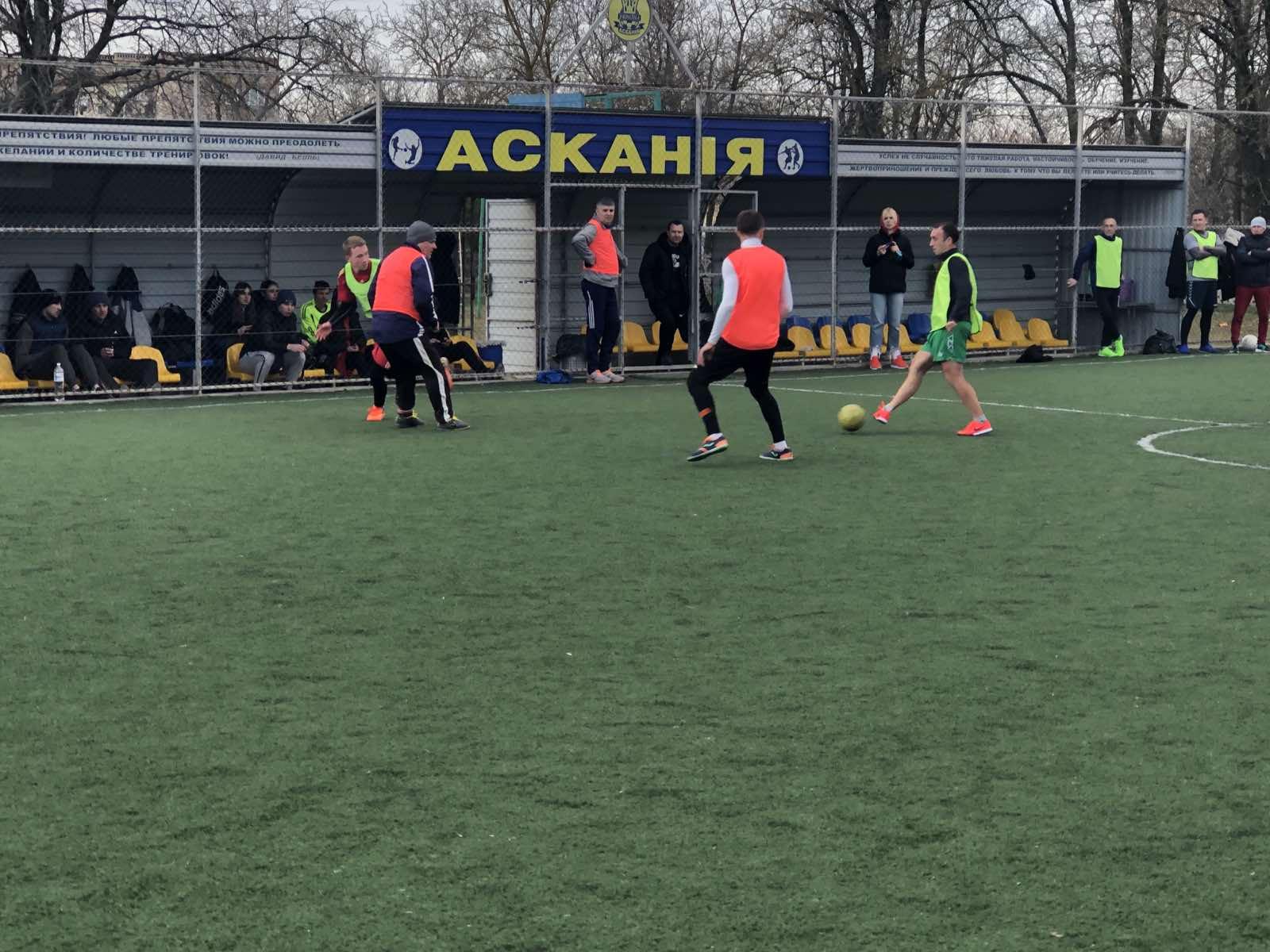 Відкритий зимовий Чемпіонат ОТГ Асканія-Нова з міні-футболу