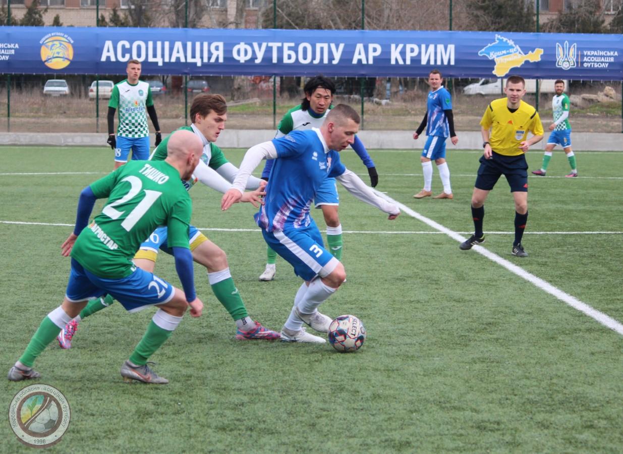 Відкритий Кубок Асоціації футболу АР Крим. День 1. (Фото. Відео)