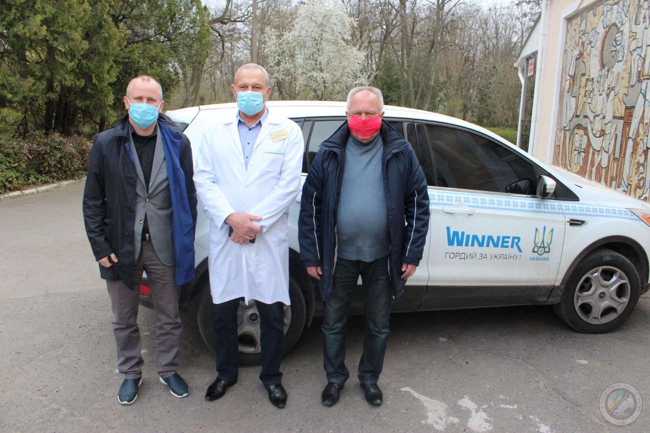 Координаційний штаб Херсонської обласної асоціації футболу допомагатиме Херсонській обласній інфекційній лікарні