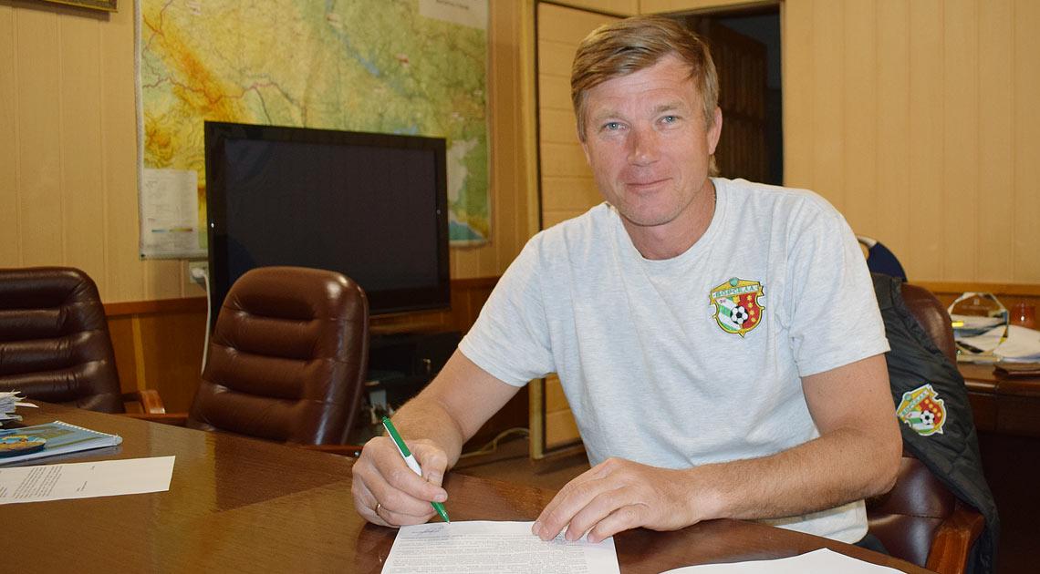 Максимов продовжив контракт з Ворсклою