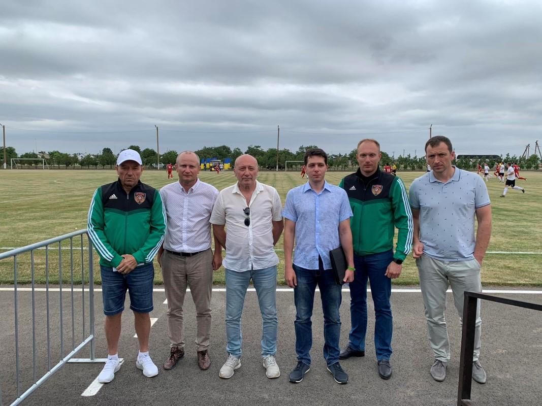 Відбулась інспекція стадіону «Мар'янівський»