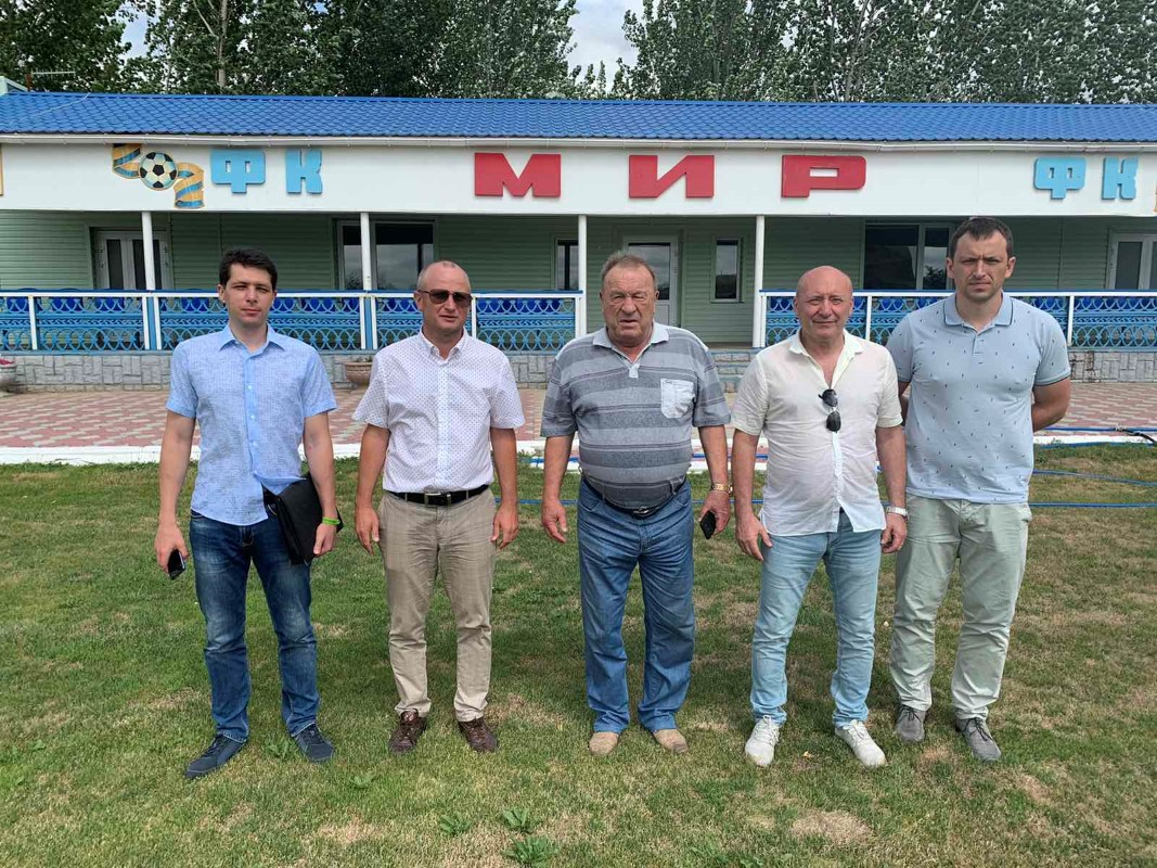 Відбулась інспекція стадіону «Затис» смт. Горностаївка
