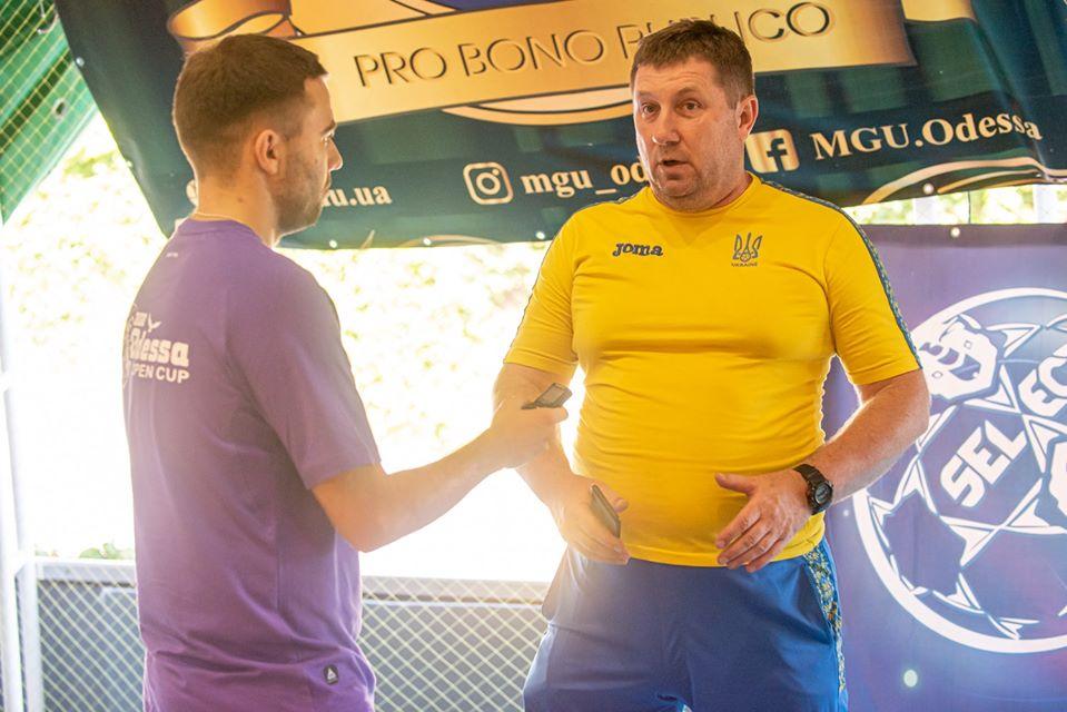 Олексій Левченко: «Нам бракує гравців атакувального плану, саме тому у перших двох матчах ми не зуміли забити»