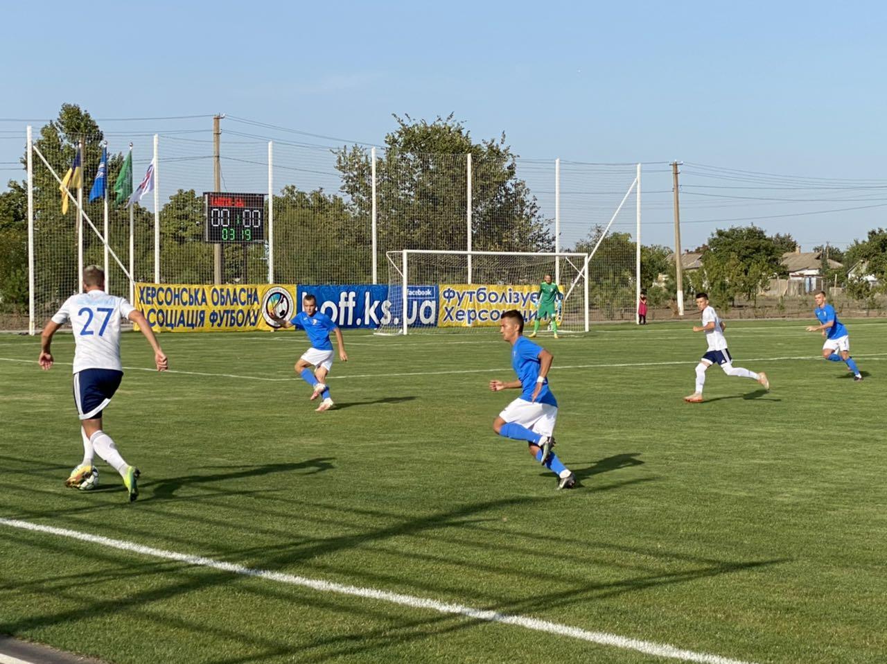 Друга ліга. Таврія мінімально переграла Балкани в домашньому матчі