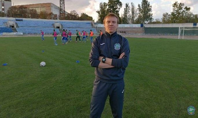Сергій Валяєв – головний тренер МФК Кристал!