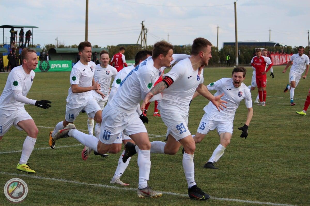 Друга ліга: Таврія зіграла внічию з Кривбасом