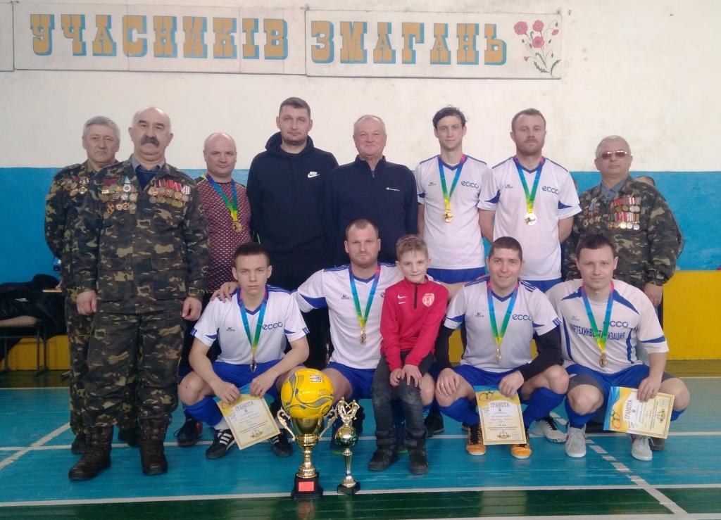 «ЕККО» – володар Суперкубку Каховської ТГ з футзалу