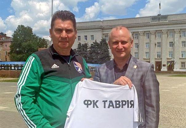 Сергій Пучков – новий головний тренер «Таврії
