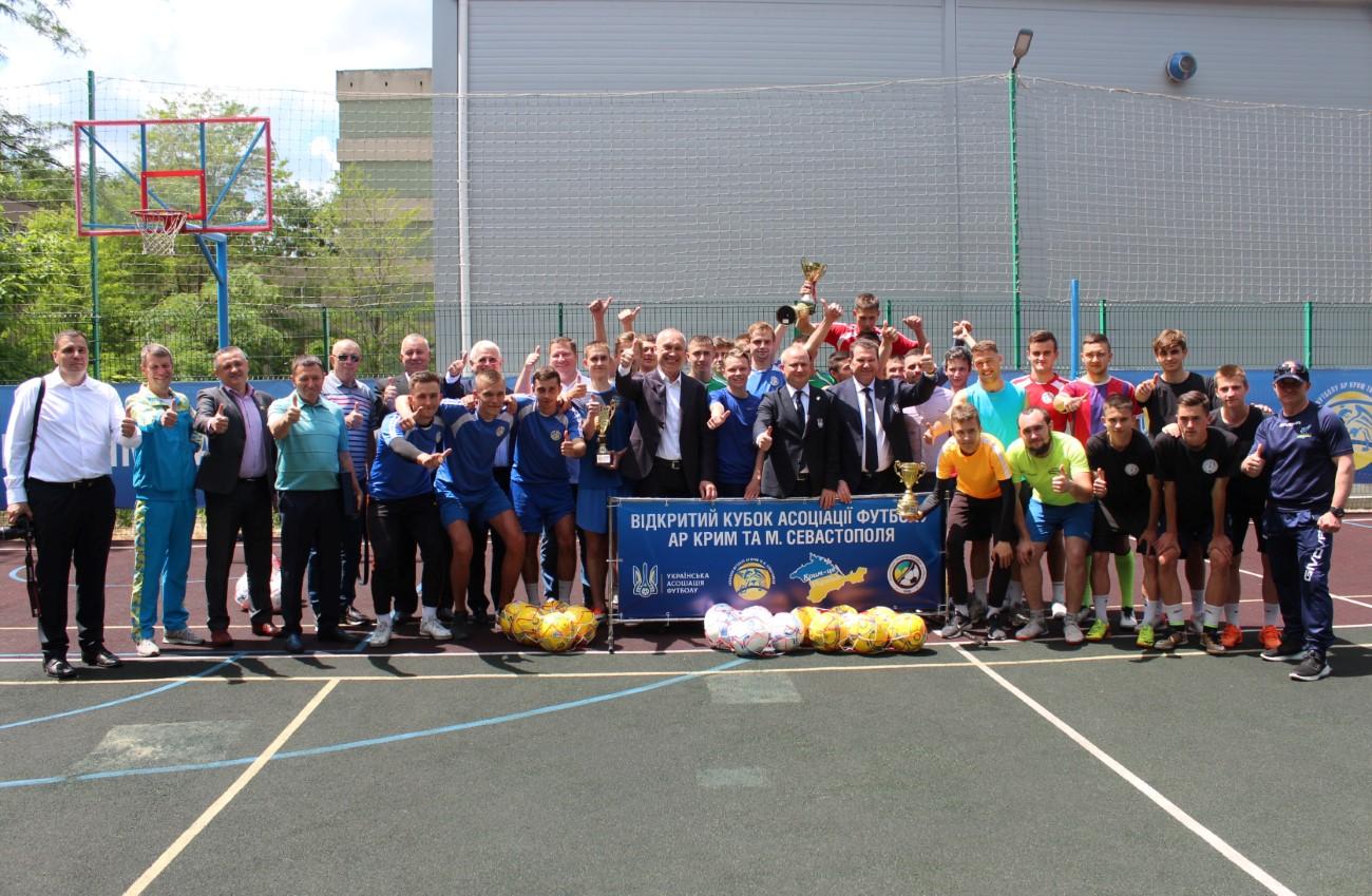 У Херсонському державному університеті відбулися матчі відкритого кубку Асоціації футболу Автономної республіки Крим та м. Севастополя серед студентів.