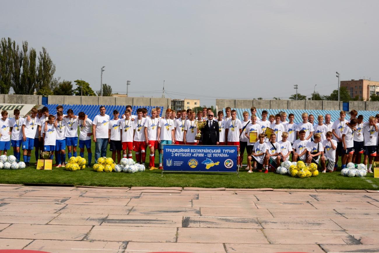 «Чемпіон» – Чемпіон!!! Завершився VI традиційний турнір «Крим — це Україна»