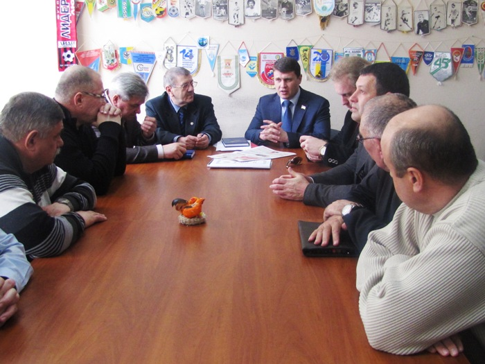 Зустріч футбольного активу Херсонщини з народним депутатом