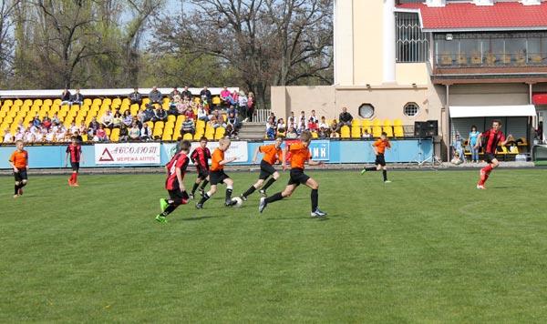 Детский турнир по футболу, посвященный памяти Юрия Чумакова