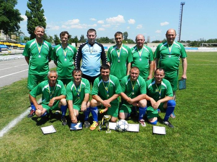 Проведено фінальні змагання першості ВФСТ «Колос» АПК України з футболу 2015 року серед ветеранів