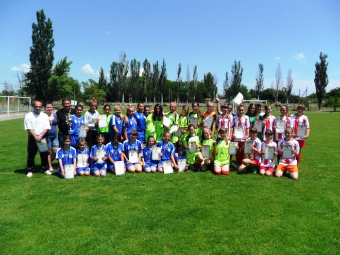 «Золота нива» – чемпіон області з футболу серед команд дівчат 2001/2004 років народження ХОДЮФЛ