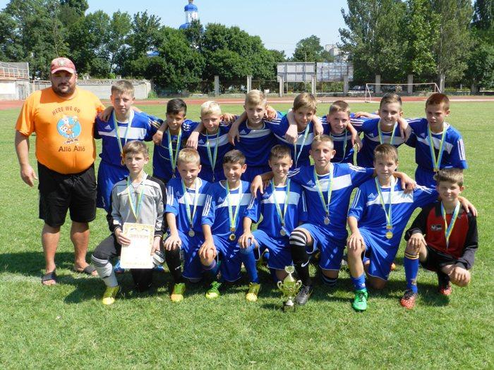 Переможці турніру «Золотий колос України» серед команд юнаків 2002/2003 років народження