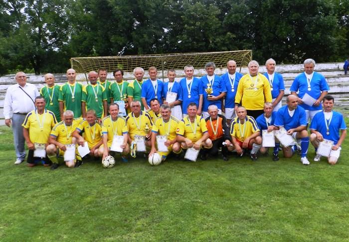 ІІІ тур відкритої першості області з футболу серед команд ветеранів