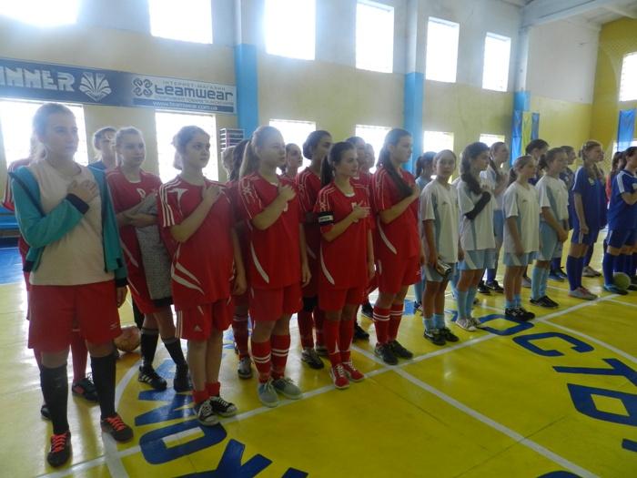 Підсумки І туру чемпіонату області з футзалу сезону 2015/2016 рр. серед команд дівчат 1999/2002 рр.н.