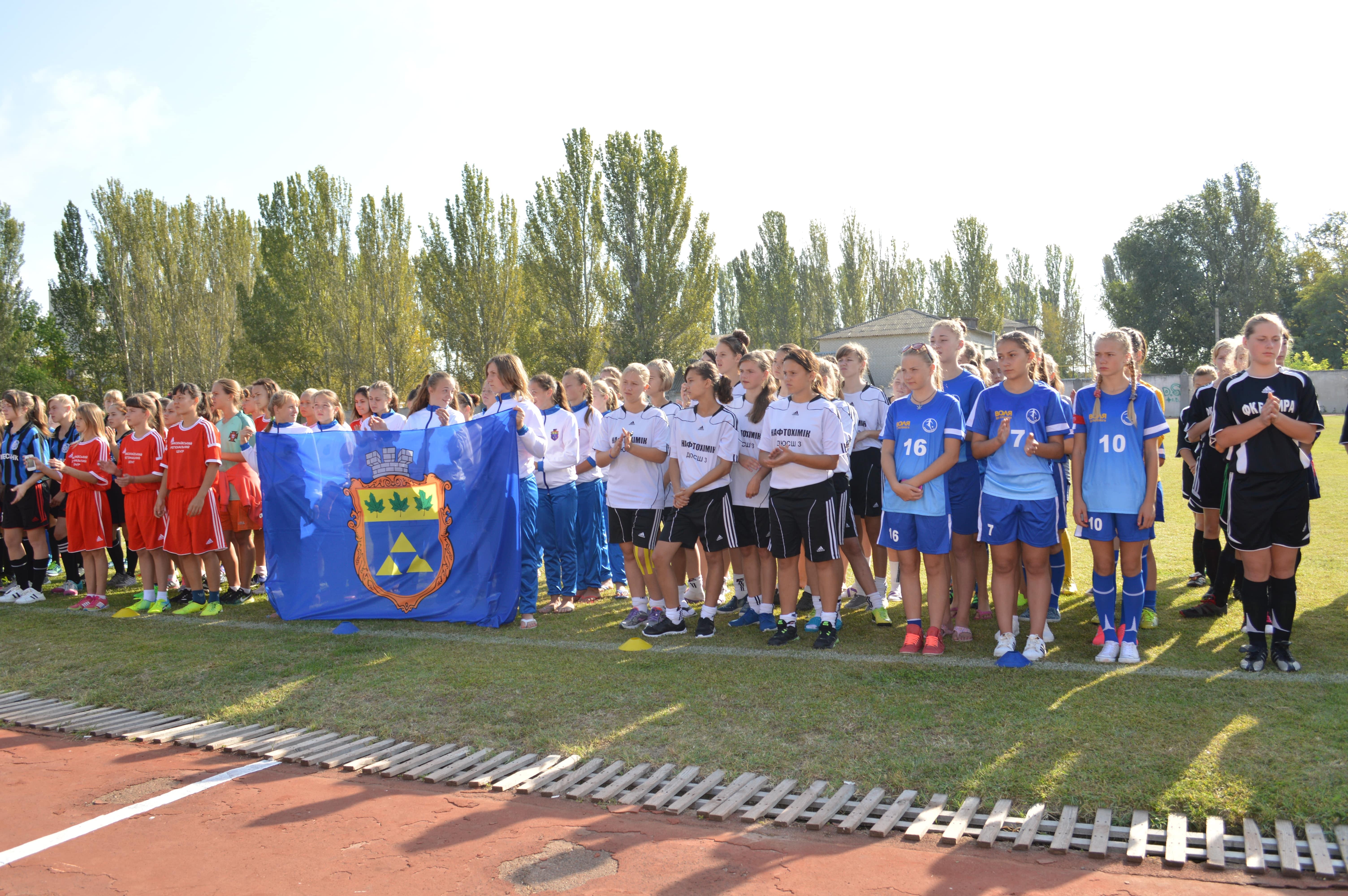 Підсумки участі футбольних команд Херсонщини у  чемпіонаті України з футболу серед команд дівчат 2002/2003 рр.н. (WU-14) сезону 2016 року