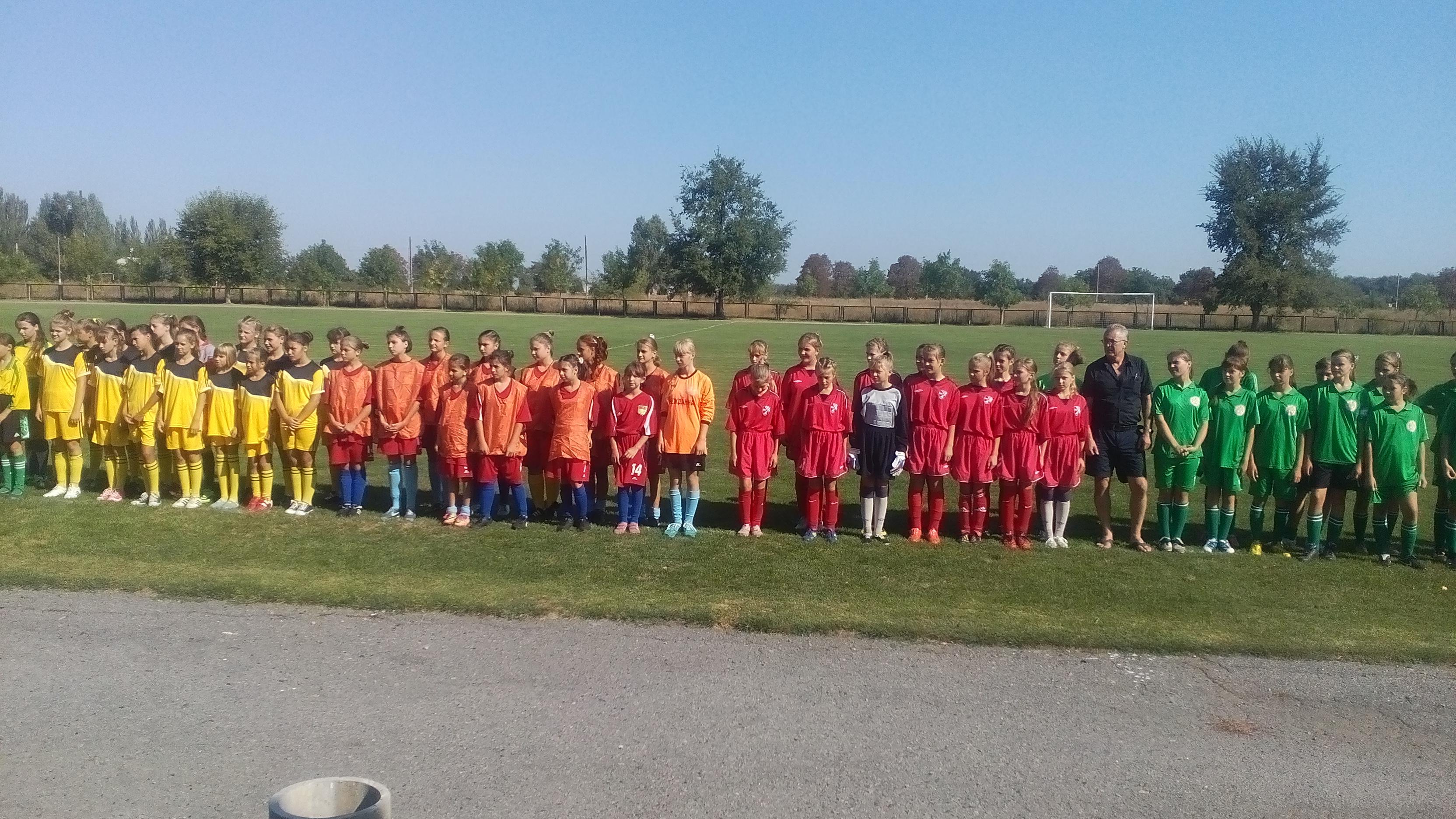 Підсумки  проведення І туру чемпіонату Херсонської області з футболу сезону 2016/2017 років серед команд дівчат 2002/2003 рр.н. ХОДЮФЛ.