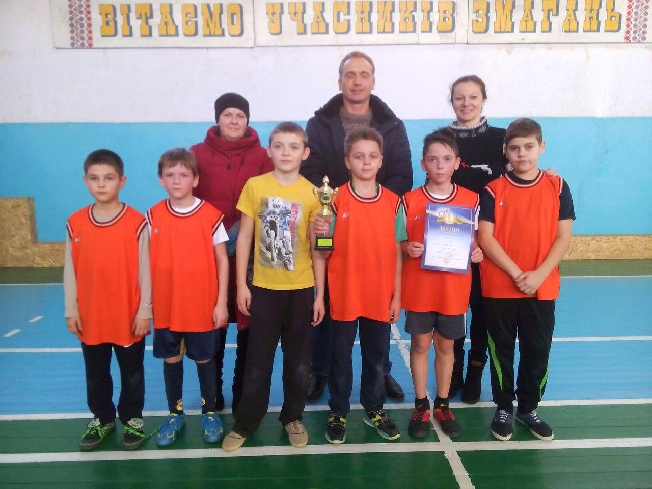 Міська Спартакіада школярів 2016/2017 з міні-футболу