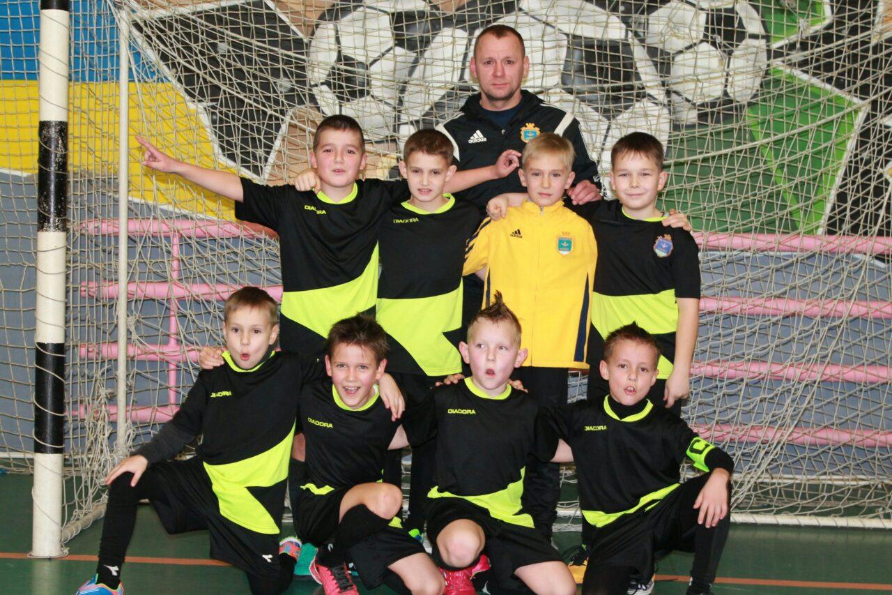 Юні каховські футболісти взяли участь у всеукраїнському турнірі  «Галицька зима – 2017».