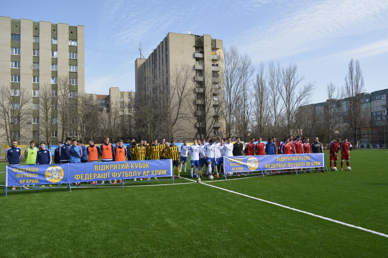 «Таврія» перемагає «Енергію» у стартовій зустрічі Відкритого Кубку федерації футболу АР Крим!