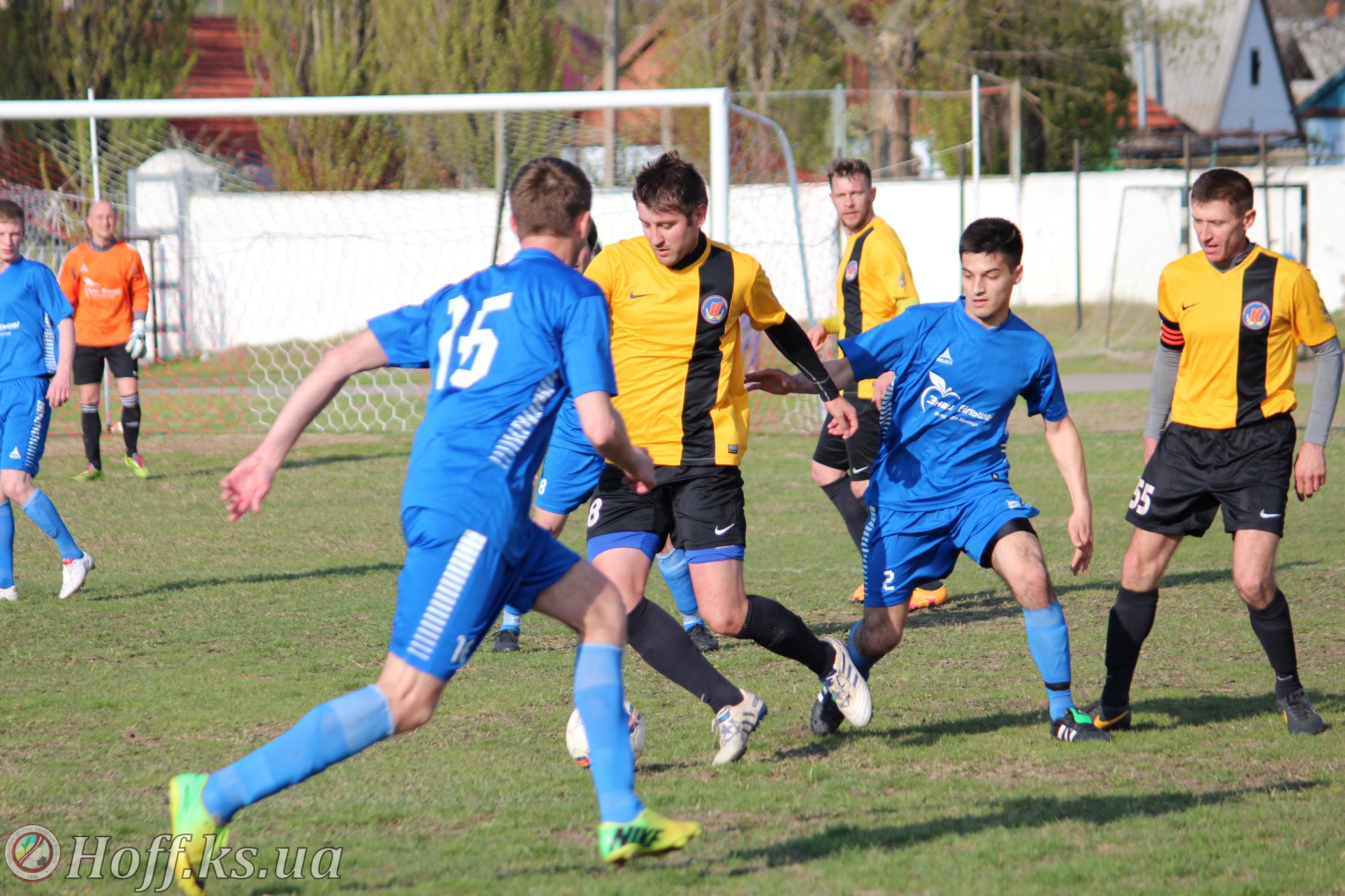 22 квітня відбувся другий тур Чемпіонату Херсонської області з футболу 2017 року