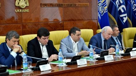 Президент ФФУ провів нараду з представниками клубів ПФЛ