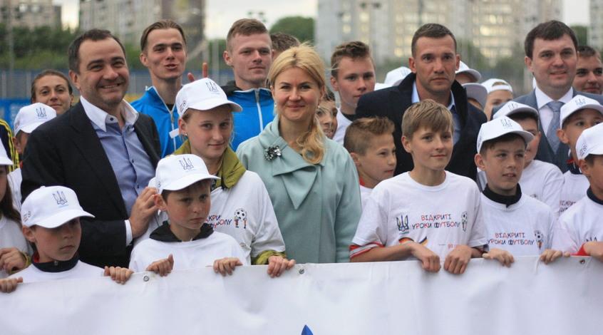 17 мая в Харькове состоялся детский футбольный фестиваль