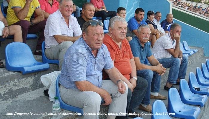 Президент Миру Доценко: ставимо завдання виграти Другу лігу