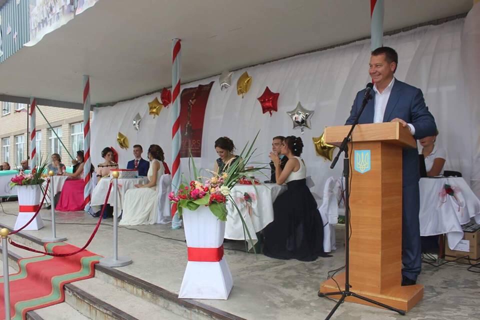 Випускників Томинобалківської школи привітав губернатор Херсонщини